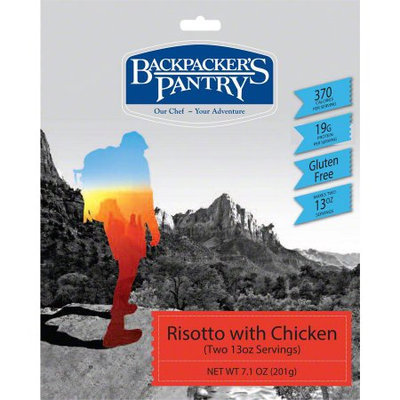 Backpackers Pantry 102422 Risotto W/ Chicken Two Person Meal