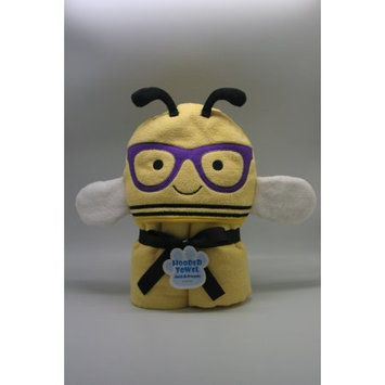 One & Only Creations Bee Hooded Towel