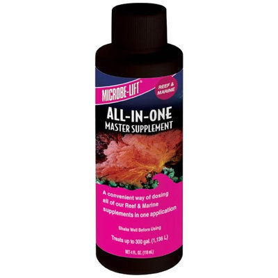 Microbe-Lift All In One Reef Supplement: 4 oz