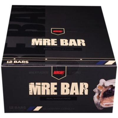 MRE BAR - BLUEBERRY COBBLER (12 Bars) by RedCon1 at the Vitamin Shoppe
