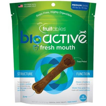 Fruitables BioActive Fresh Mouth Dental Chews [Options : Small (Single)]