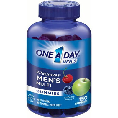 Bayer One A Day Men's VitaCraves Gummies - 150 Count