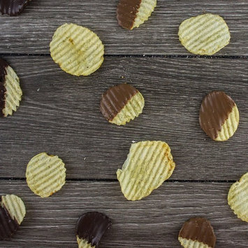 Chocolate-Covered & Dunked Potato Chips - 1/2 Pound (Milk Chocolate)