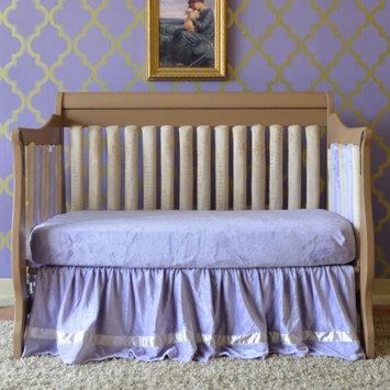 Go Mama Go Minky Crib Sheet Color: Lavender