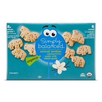Vanilla Animal Cookies - 6oz - Simply Balanced™