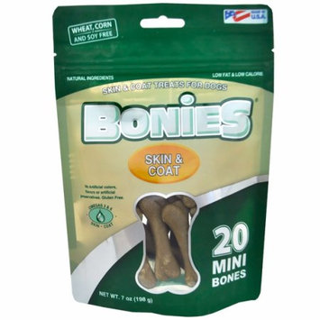 Not Available BONIES Skin & Coat Bones Multi-Pack MINI (20 Bones)