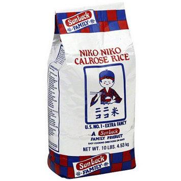 Niko Niko Calrose Rice, 10 lb (Pack of 4)
