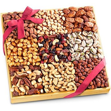 Big 3 Pounds Nuts Extravaganza Gift in Wooden Tray