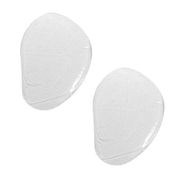 uxcell Pair Clear Silicone Nonslip Front Pads Cushions Insoles for Women