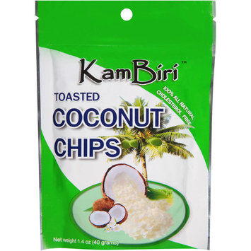 Kambiri Toasted Coconut Chips, 1.4 oz