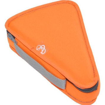 Ecocozie E1T03S03 Reusable Triangle Food Container - Sunkissed Orange