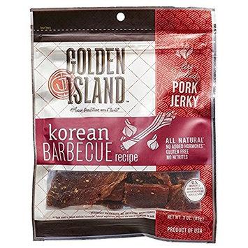 Golden Island Korean BBQ Pork 3Pack (14.5 oz Each) Bkwls
