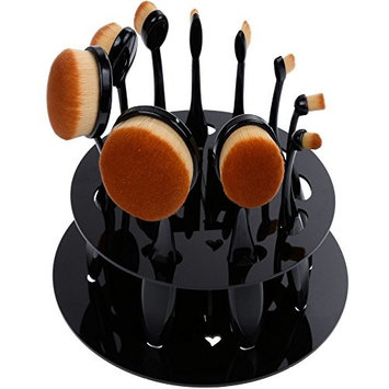 Rovtop 10 Pieces Makeup Brushes Professional Makeup Brush Set