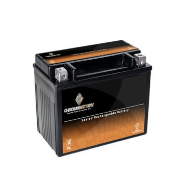 YTX12-BS Motorcycle Battery for YAMAHA YZF600R 600CC 95-'07