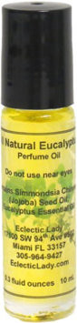 Eclectic Lady All Natural Eucalyptus Perfume Oil, Small