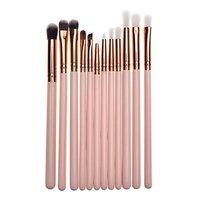 Baomabao 12PCS Make Up Foundation Eyebrow Eyeliner Blush Cosmetic Concealer Brushes