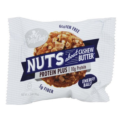 Betty Lou's - Nuts About Cashew Butter Protein Plus Energy Balls - 1.7 oz(pack of 6)