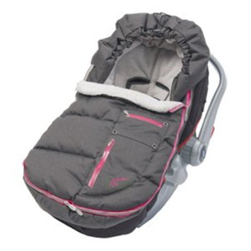 JJ Cole Bundleme Arctic Weather Resistant, Charcoal Sassy, Infant (Discontinued by Manufacturer) (Discontinued by Manufacturer)