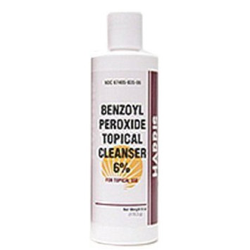 Benzoyl Peroxide Topical Cleanser 6% - 6oz