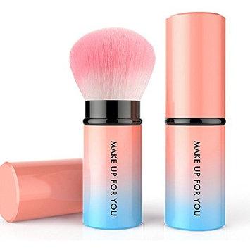 Baomabao Retractable Kabuki Blush Foundation Powder Cosmetic Makeup Brush Kit