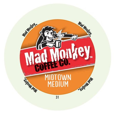 Mother Parker Mad Monkey Midtown Medium RealCup Portion Pack For Keurig Brewers