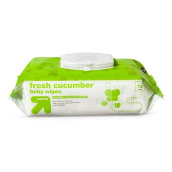Cucumber Baby Wipes - 72 Count - up & up™