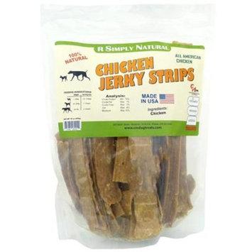 Carlson Morgan R Simply Natural Chicken Jerky Strips [Options : 16 oz]