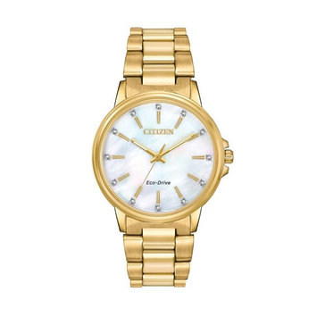 Citizen Eco-Drive Women's Chandler Crystal Stainless Steel Watch - FE7032-51D