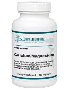 Complementary Prescriptions, Calcium/Magnesium 100 Caps
