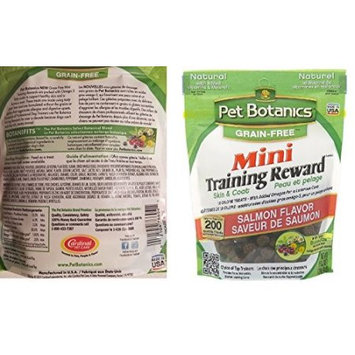 Cardinal Pet Care Pet Botanics Training Rewards Salmon Flavor Treats for Dogs (3 Pack) 4 OZ each bag