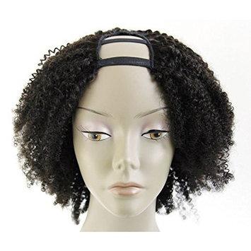 Ms Fenda Hair 100% Peruvian Remy Virgin Human Hair Afro Kinky Curly Style U-Part Full Machine Made Wigs