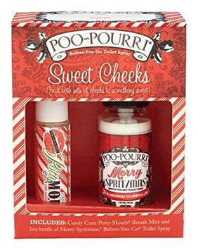Poo Pourri Poo-Pourri Candy Cane Scent Odor Remover Set (SET-SWT-001)