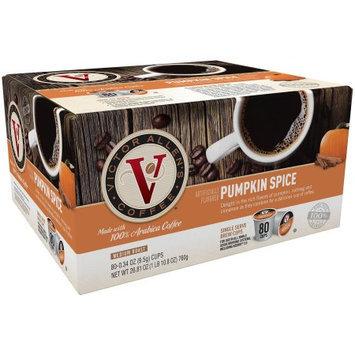 Victor Allen Coffee, Pumpkin Spice Single Serve K-cup, 80 Count (Compatible with 2.0 Keurig Brewers)