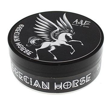 Ariana & Evans Goat's Milk and Lanolin Shaving Soap, Grecian Horse