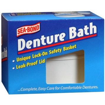 SEA-BOND Denture Bath 1 Each (Colors May Vary)