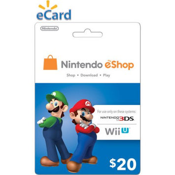Incomm Nintendo eShop $20 (email delivery)
