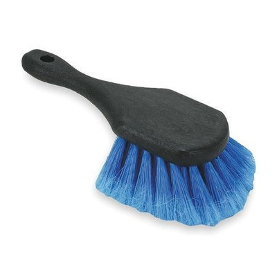 TOUGH GUY 2ZPC8 Dip And Wash Brush, Black And Blue