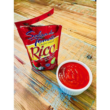 RICO Tomato Sauce in a Pouch - Made in Puerto Rico - 7.37 oz pouch (Count of 6)