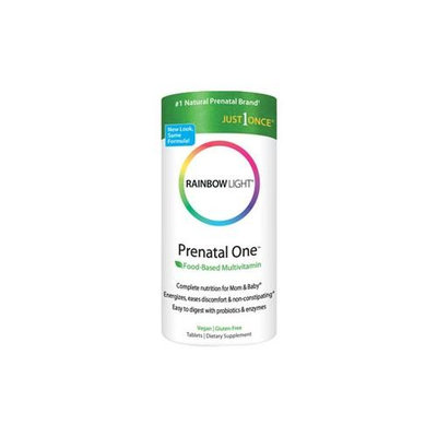 Rainbow light just once prenatal one multivitamin tablets (30 count) part no. 892-869 (1/ea)