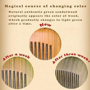 Xuanli 2 pcs Natural SandalWood Comb Hair Care Anti Static Wooden Hair Massage Natural Brush Beard Comb