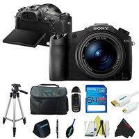 Sony Cyber-shot DSC-RX10 II Digital Camera DSC-RX10M2 + Pixi-Advanced Accessory Bundle