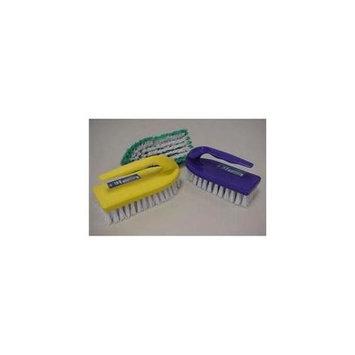 Ddi Iron Shape Scrub Brush With Handle (pack Of 48)