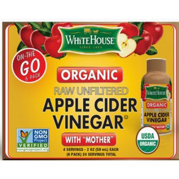 National Fruit Product Co Whitehouse Organic Apple Cider Vinegar with Mother - On The Go