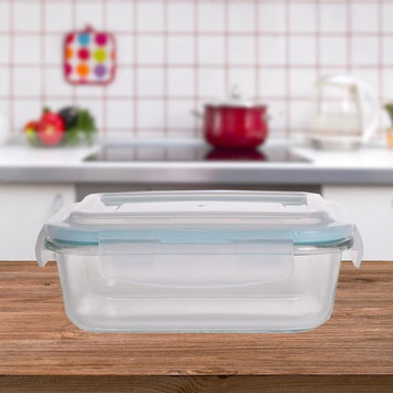 Rectangular Borosilicate Glass Food Storage Container