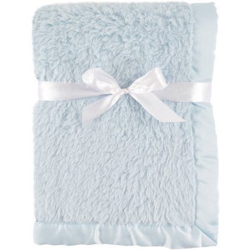 Hudson Baby Powder Blue Sherpa Blanket