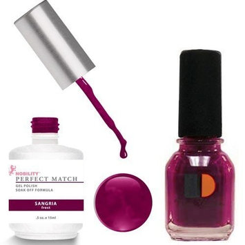 Le Chat Perfect Match Led-Uv Gel Polish Kits - Complete A-Z Collection, Sangria by LeChat Perfect Match
