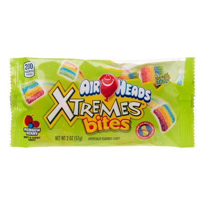 Airheads Xtremes Bites Good Rainbow Berry, 2 Oz (Innerpack of 18)