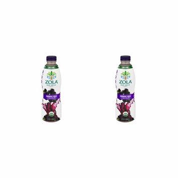 Zola Brazilian Superfruits Acai Berry Original Juice (32 Ounce Bottles (Pack of 2)