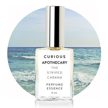 The Striped Cabana Coconut Milk Tropical Floral perfume by Curious Apothecary