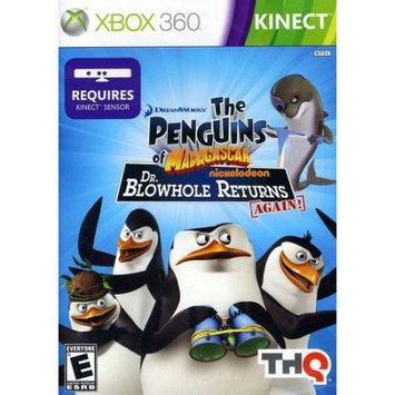 Thq 55338 Penguins of Madagascar Dr. Blowholekinec 360 Xbox